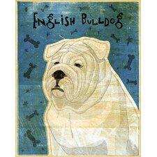 Top Dog English Bulldog Wall Mural
