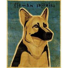 Top Dog German Shepherd Wall Mural