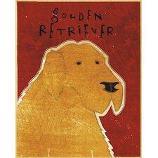 Top Dog Golden Retriever Wall Mural