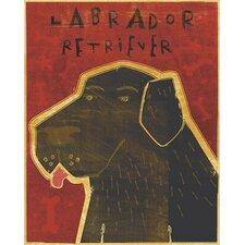 Top Dog Labrador Retriever Wall Mural