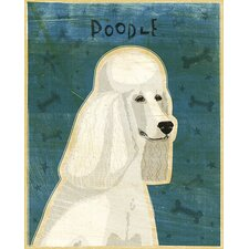Top Dog Poodle Wall Mural