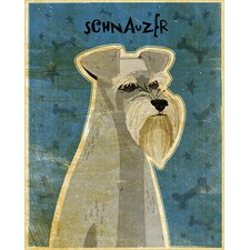 Top Dog Schnauzer Wall Mural