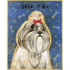 Top Dog Shih Tzu Wall Mural