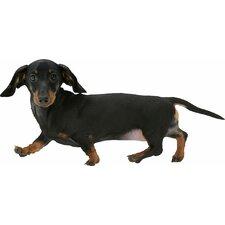 Puppy Love Miniature Dachshund Wall Decal