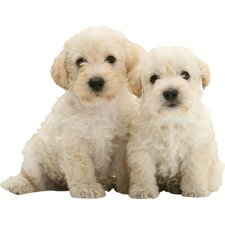 Puppy Love Woodle Pups Wall Decal