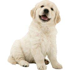 Puppy Love Golden Retriever Wall Decal
