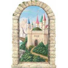 Castle Window Main Gate Wall Mural