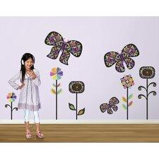 Rainbow Garden Wall Decal