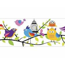 "Tweety Pie 15' x 9"" Wildlife Border Wallpaper"