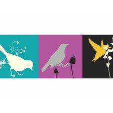 "15' x 9"" Birds Border Wallpaper"