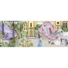 "Enchanted Kingdom 18' x 18"" Scenic Border Wallpaper"