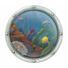 Porthole Number 2 Accent Mural Wall Mural