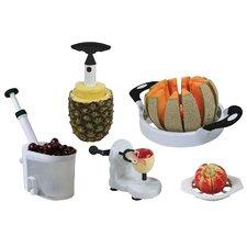 AmeriHome 5 Piece Fruit and Vegetable Prep Set
