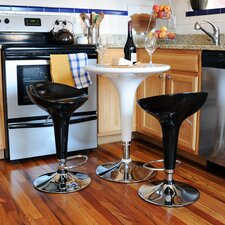 AmeriHome 3 Piece Pub Table Set