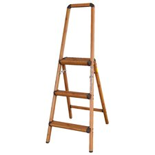 AmeriHome 5 Ft. Aluminum Lightweight Step Ladder with 225 lb. Load Capacity