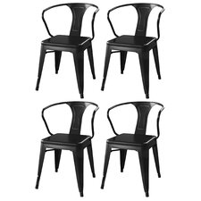 AmeriHome Arm Chair (Set of 4)
