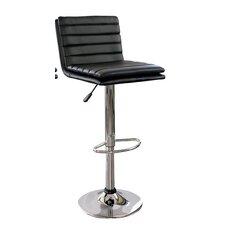 AmeriHome Adjustable Height Swivel Bar Stool with Cushion (Set of 2)