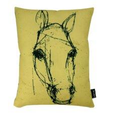 Horse Sketch Lumbar Pillow