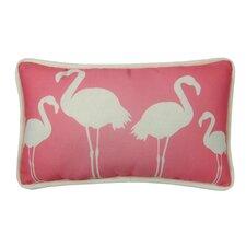 Flamingo Indoor/Outdoor Lumbar Pillow