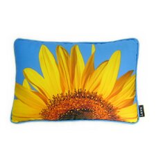 Sunflower Sky Throw Pillow