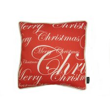 Lava All Over Merry Christmas Throw Pillow