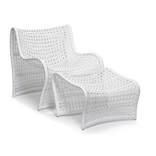 Lola Occasional Chair and Ottoman