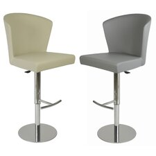 Verona Adjustable Height Swivel Bar Stool