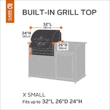 Classic Built-IN Grill Cover