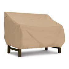 Terrazzo Collection Bench / Loveseat Cover in Tan, Medium