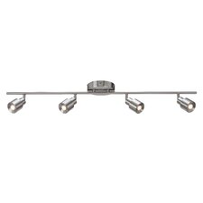 Chappelle 4 Light Fixed Full Track Lighting Kit