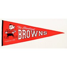 NFL Flags Cleveland Browns Pennant