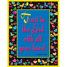 Proverbs 3 Poster (Set of 3)