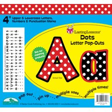 Dots Pop-outs Letters & Numbers