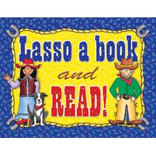 Lasso a Book Poster (Set of 3)