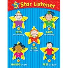 5-Star Listener Small Chart (Set of 3)