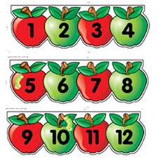Mini Apples Line Numbers