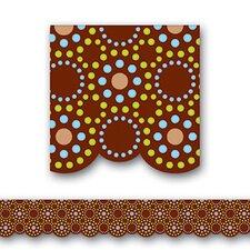 Lots of Dots Shaped Classroom Border