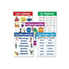 Spanish Basic Skills 5 Chart
