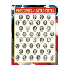 Us Presidents Chart (Set of 3)