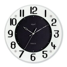 "14"" Printed Glass Wall Clock"