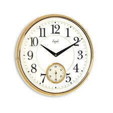"""13.5"""" Side Second Wall Clock"""