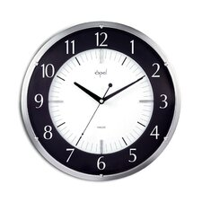 "14"" Round Dome Glass Wall Clock"