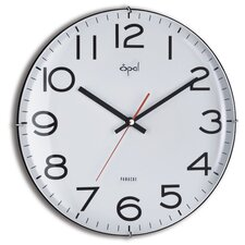 "12"" Edge Less Dome Glass Wall Clock"