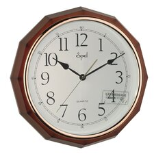 """15.44"""" Westminster Chime Wall Clock"""