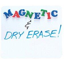 Dry Erase Magnetic Lap Board Whiteboard, 1' H x 1' W
