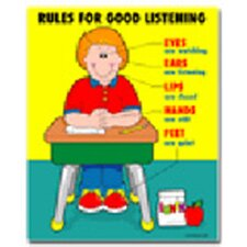 Rules for Good Listening Chart