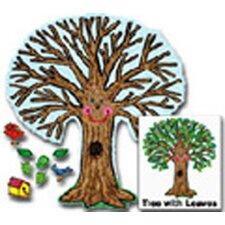 Big Tree Kid-drawn Bulletin Board Cut Out Set