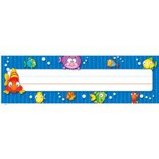 Deskplates Fish Name Tag (Set of 3)