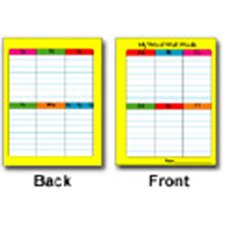 Portable Word Wall Chart