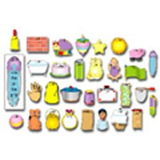 Word Families 30 Pieces Bulletin Board Cut Out Set
